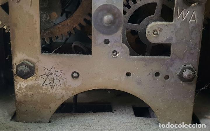Relojes de carga manual: RELOJ DE SOBREMESA DE CARRUAJE. JUNGHANS. ALEMANIA. SIGLO XIX-XX. - Foto 10 - 139941770
