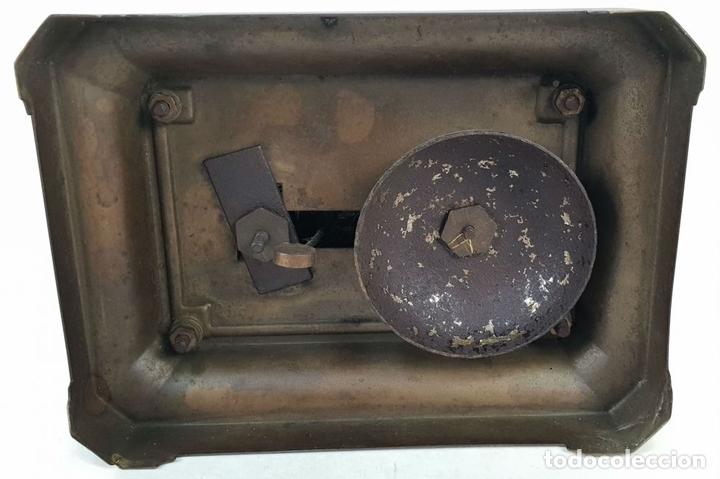 Relojes de carga manual: RELOJ DE SOBREMESA DE CARRUAJE. JUNGHANS. ALEMANIA. SIGLO XIX-XX. - Foto 11 - 139941770