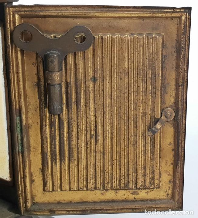 Relojes de carga manual: RELOJ DE SOBREMESA DE CARRUAJE. JUNGHANS. ALEMANIA. SIGLO XIX-XX. - Foto 13 - 139941770