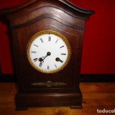 Relojes de carga manual: MAGNIFICO RELOJ MAQUINA PARIS SUSPENSION DE HILO. MUEBLE DE MAGNIFICA CALIDAD.. Lote 140039338