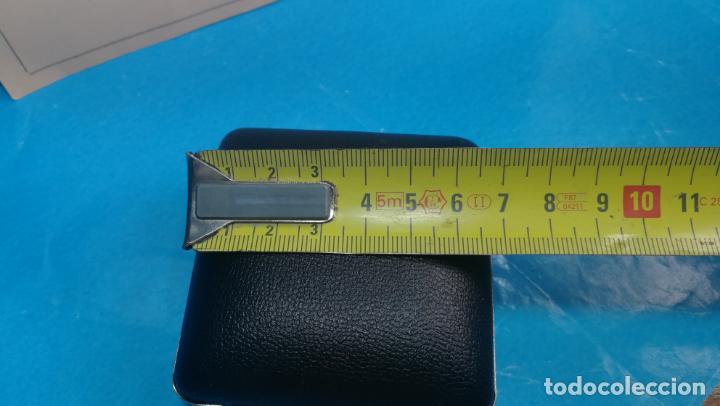 Relojes de carga manual: Botito y antique reloj despertador de viaje JUNGHANS , funcionando - Foto 34 - 140283502