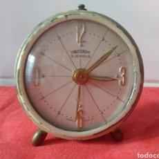 Relojes de carga manual: RELOJ OBAYARDO 2 JEWELS. Lote 140562962