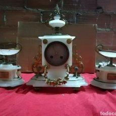 Relojes de carga manual: ESPECTACULAR RELOJ FRANCÉS SIGLO XIX CON GUARNICIONES. Lote 143161357