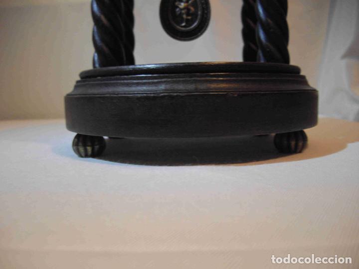 Relojes de carga manual: RELOJ MESA MADERA TEMPLETE - Foto 3 - 140737514