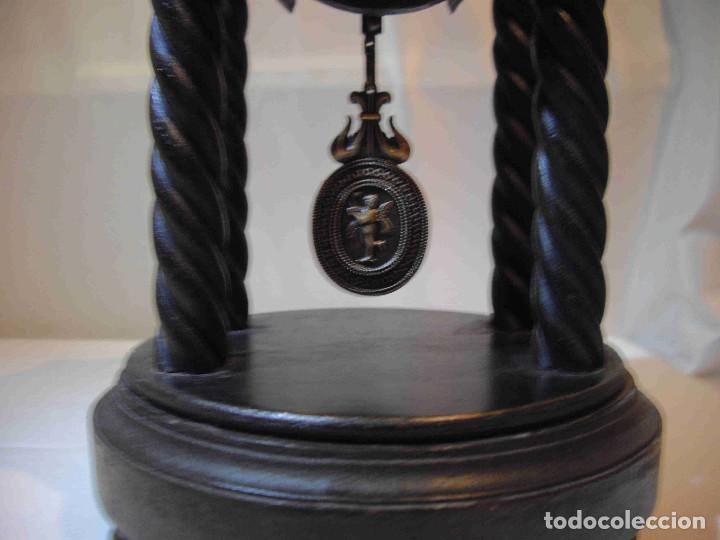 Relojes de carga manual: RELOJ MESA MADERA TEMPLETE - Foto 4 - 140737514