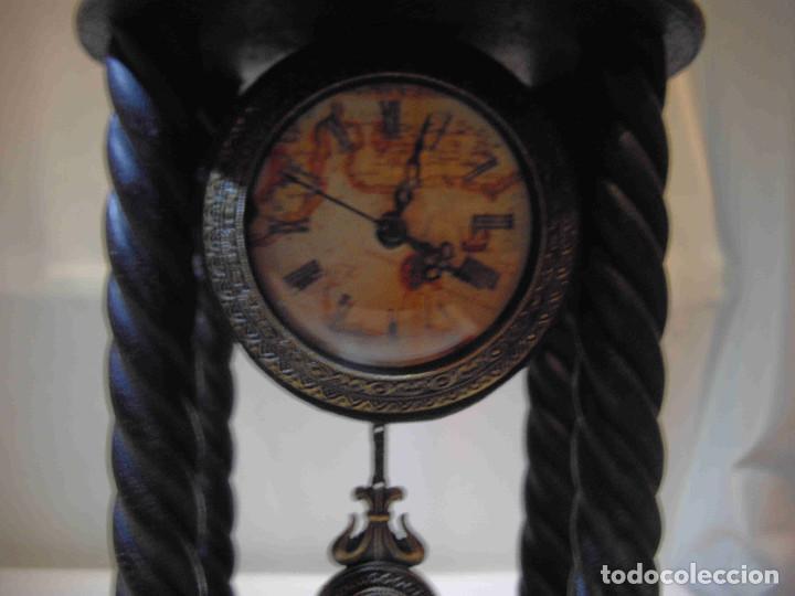 Relojes de carga manual: RELOJ MESA MADERA TEMPLETE - Foto 5 - 140737514