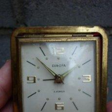 Relojes de carga manual: RELOJ DESPERTADOR PLEGABLE EUROPA, GERMANY, 2 JEWELS. Lote 140772750