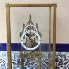Relojes de carga manual: RELOJ ESQUELETO EN FORMA DE CATEDRAL.. Lote 141016362
