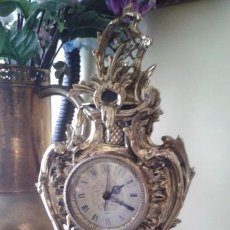 Relojes de carga manual: RELOJ DE BRONCE MÁQUINA DE CUARZO. Lote 141560850