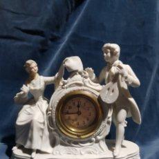 Relojes de carga manual: RELOJ EN PORCELANA. Lote 141710068