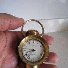 Relojes de carga manual: ANTIGUO RELOJ DE CUERDA COLECCIÓN FUNCIONA PERO ADELANTA. Lote 141882542
