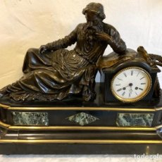 Relojes de carga manual: RELOJ DE SOBREMESA CON MAQUINARIA JAPY FRERES. Lote 142288898