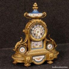 Relojes de carga manual: RELOJ FRANCÉS EN BRONZE DEL SIGLO XX. Lote 142328394