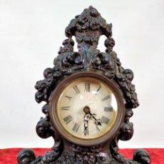 Relojes de carga manual: RELOJ. HIERRO COLADO. ESFERA PINTADA. SIN MAQUINARIA. EUROPA(?). SIGLO XIX. Lote 142865542