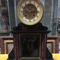 Relojes de carga manual: ESPECTACULAR RELOJ ESCAPE VISTO EPOCA NAPOLEÓN III, . PÉNDULO MERCURIO. FUNCIONA. Lote 143594178