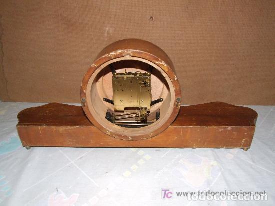 Relojes de carga manual: INTERESANTE RELOJ SOBREMESA AÑOS 50, MARCA KIENZLE ALEMAN - Foto 4 - 143831742