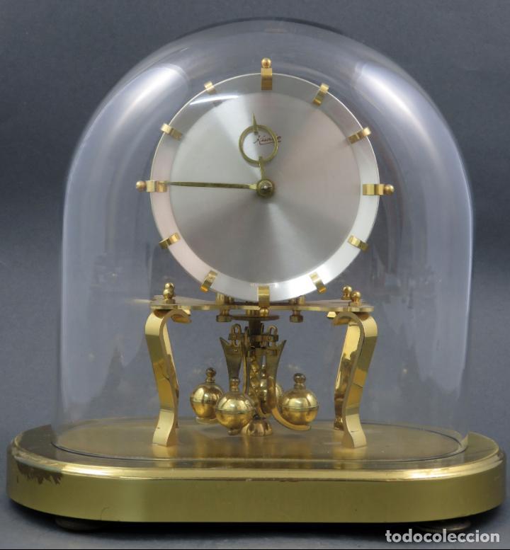 RELOJ KUNDO ALEMAN KIENINGER OBERGFOLL PENDULO A TORSIÓN 400 DIAS AÑOS 50 FUNCIONANDO (Relojes - Sobremesa Carga Manual)