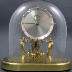 Relojes de carga manual: RELOJ KUNDO ALEMAN KIENINGER OBERGFOLL PENDULO A TORSIÓN 400 DIAS AÑOS 50 FUNCIONANDO. Lote 144091066