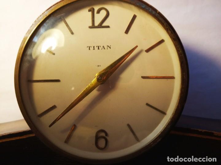 Relojes de carga manual: BONITO Reloj de mesa titan - Foto 2 - 145397138
