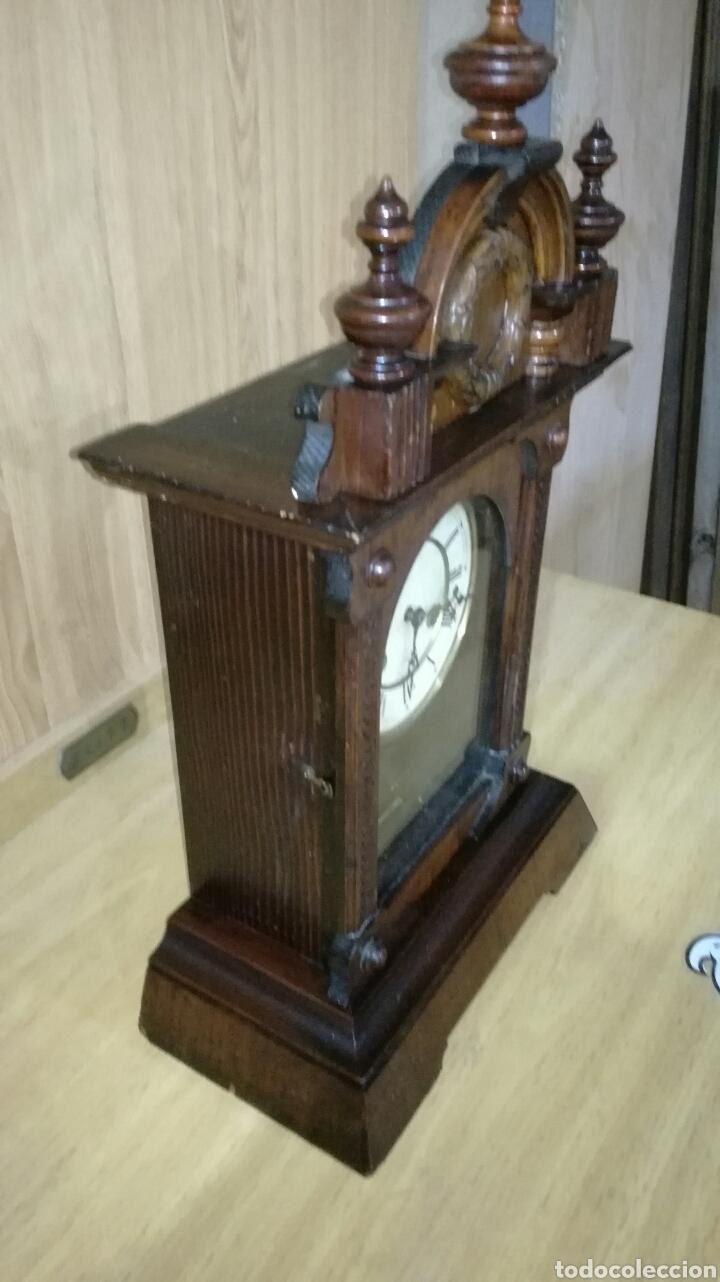 Relojes de carga manual: Reloj de sobremesa muy bonito funcionando - Foto 2 - 145624621