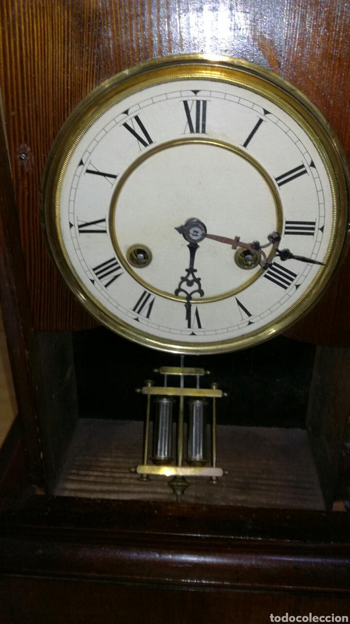 Relojes de carga manual: Reloj de sobremesa muy bonito funcionando - Foto 3 - 145624621