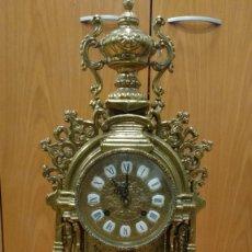 Relojes de carga manual: ANTIGUO RELOJ DE BRONCE SIGLO XX, FHS ALEMANIA CON SONERÍA. Lote 146125534