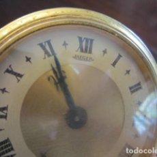 Relojes de carga manual: RELOJ JAEGER CHAPADO EN ORO CON FILIGRANA DE MESA. Lote 146214314
