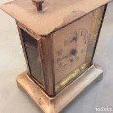 Relojes de carga manual: RELOJ ANTIGUO 15CM DE ALTO X5CMX10CM APROXIMA.. Lote 146578886