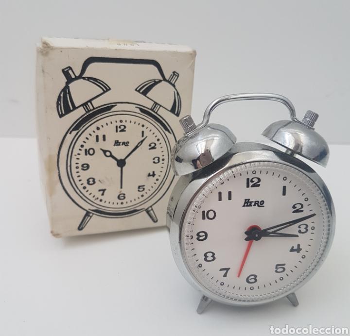RELOJ. FUNCIONANDO (Relojes - Sobremesa Carga Manual)