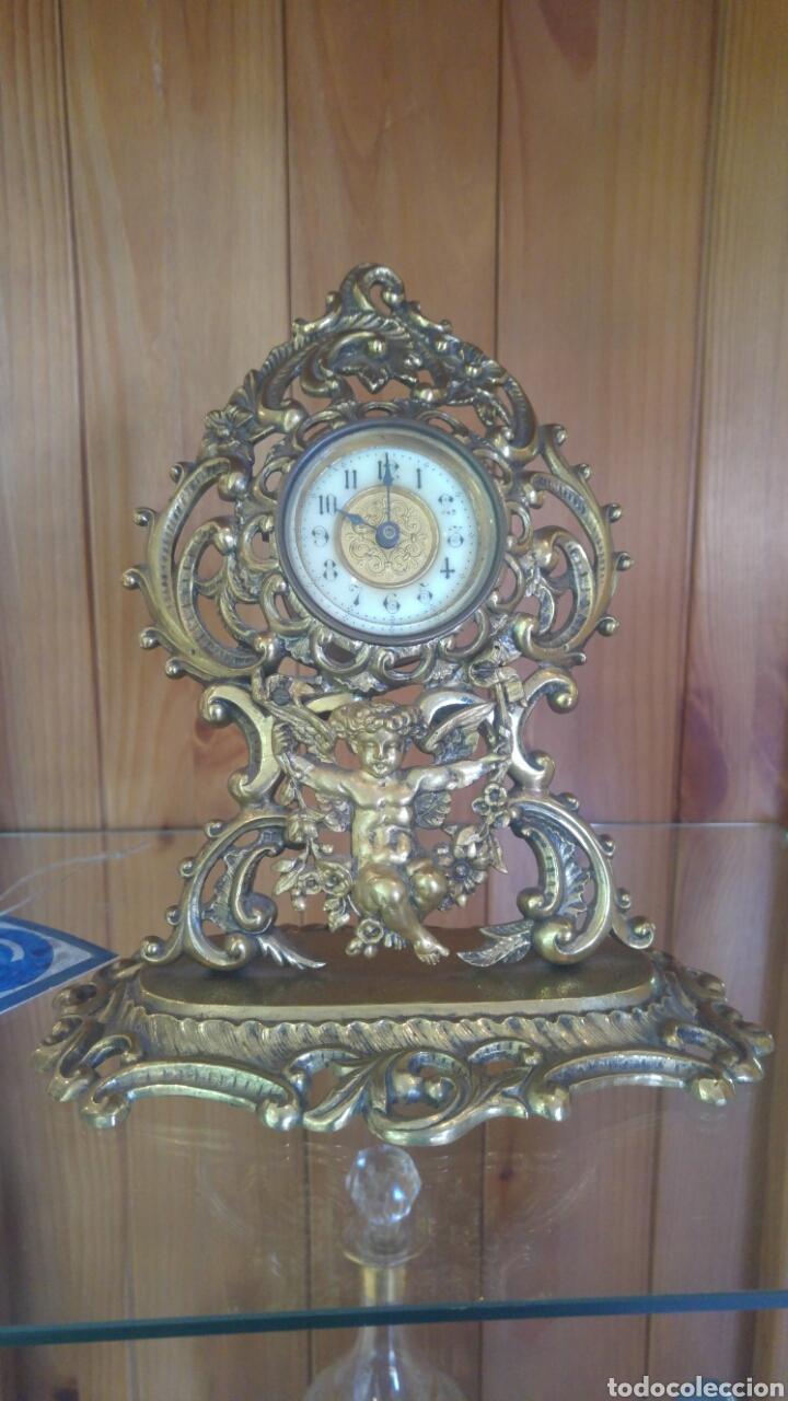 RELOJ DE BRONCE (Relojes - Sobremesa Carga Manual)
