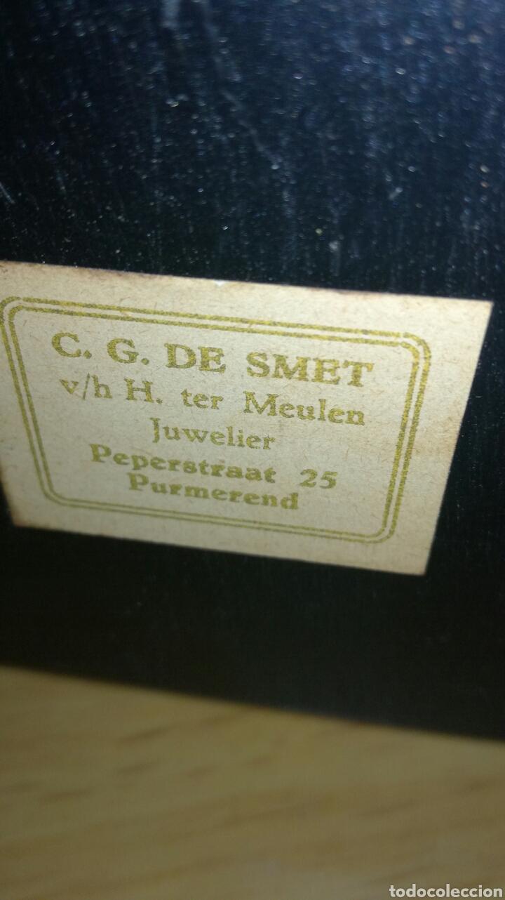 Relojes de carga manual: Reloj de sobremesa muy bonito funcionando - Foto 4 - 147272865