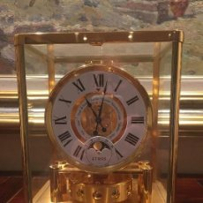 Relojes de carga manual: JAEGER LE COULTRE / ATMOS CLASSIQUE PHASES DE LUNE. Lote 147917286
