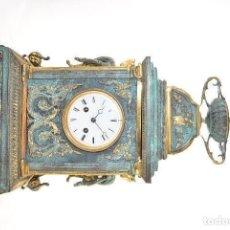 Relojes de carga manual: RELOJ DE BRONCE SIGLO 19. Lote 148112950