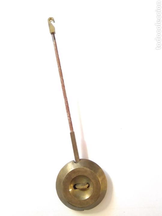 Relojes de carga manual: Reloj art decó con guarnición de granito y metal - Foto 19 - 148536497