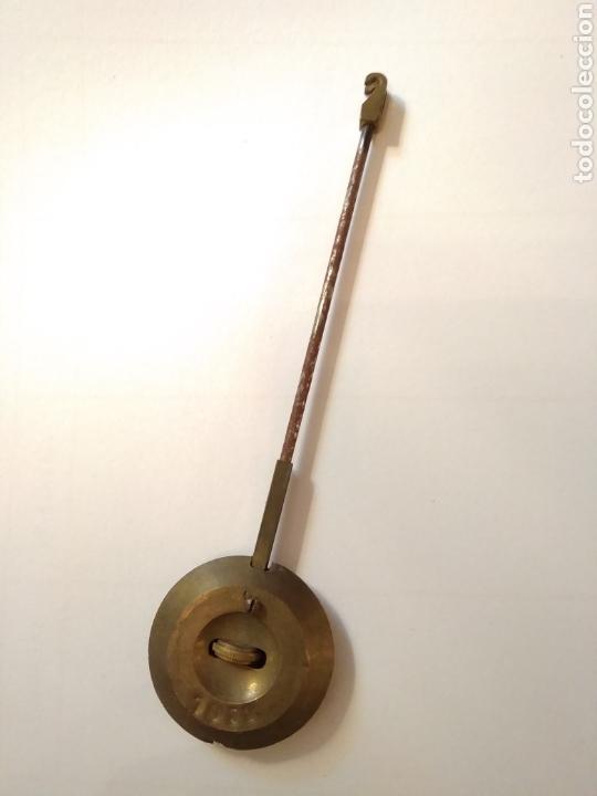 Relojes de carga manual: Reloj art decó con guarnición de granito y metal - Foto 20 - 148536497