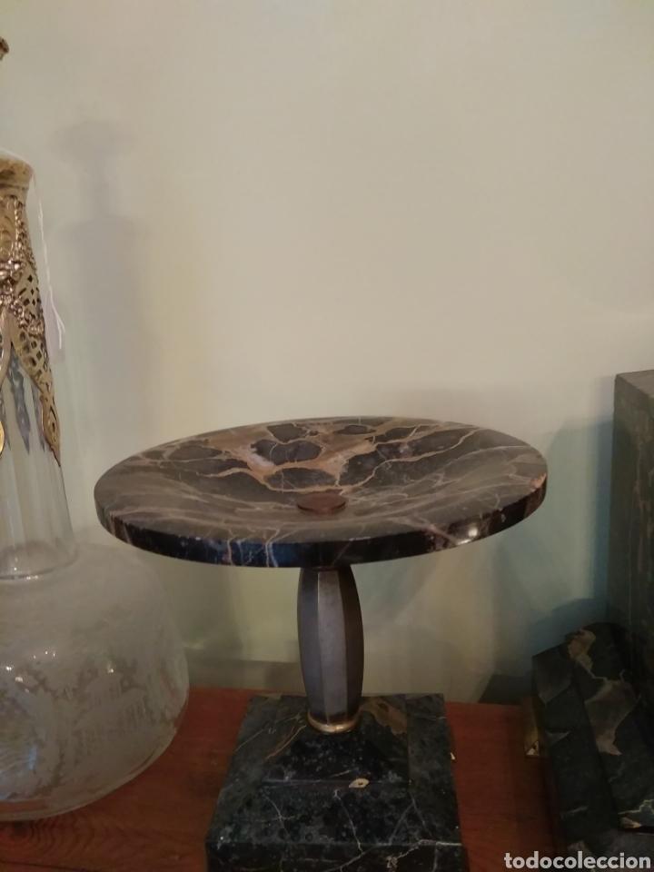 Relojes de carga manual: Reloj art decó con guarnición de granito y metal - Foto 16 - 148536497