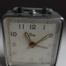 Relojes de carga manual: RELOJ PEQUEÑO SOBREMESA MODELO DEP. MADE IN FRANCE. SIN FUNCIONAR.. Lote 148944922