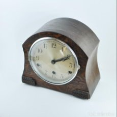 Relojes de carga manual: RELOJ DE SOBREMESA ART DECO INGLÉS BRITISH MADE. Lote 149266182