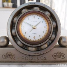 Relojes de carga manual: RELOJ DE SOBREMESA PROPAGANDA DE COJINETES POLZL & CO.. Lote 150108518