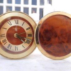 Relojes de carga manual: RELOJ DE SOBREMESA SWIZA 8 DIAS CUERDA. Lote 150108818