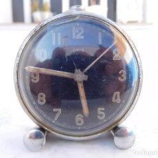 Relojes de carga manual: RELOJ DE SOBREMESA ORIS ESFERA NEGRA. Lote 150112358
