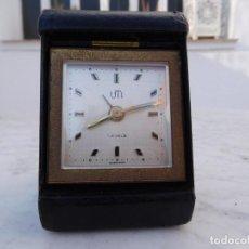 Relojes de carga manual: RELOJ DE SOBREMESA O PETACA UTI (SWIZA) . Lote 150113750