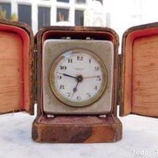 Relojes de carga manual: RELOJ DESPERTADOR DE SOBREMESA DEP CON SU CAJA. Lote 150115002