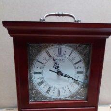 Relojes de carga manual: RELOJ SOBREMESA MADERA DANBURY. Lote 150449622