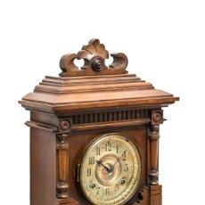 Relojes de carga manual: ANTIGUO RELOJ AMERICANO, DE LOS AÑOS 1900, DE SONERIA HORAS Y MEDIAS. Lote 150633206