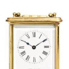 Relojes de carga manual: ANTIGUO RELOJ DE CARRUAJE O DE VIAJE, DE ORIGEN INGLES FUNCIONANDO. Lote 150670734