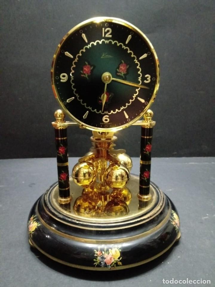 Relojes de carga manual: Antiguo reloj de sobremesa a cuerda - Foto 3 - 151640254