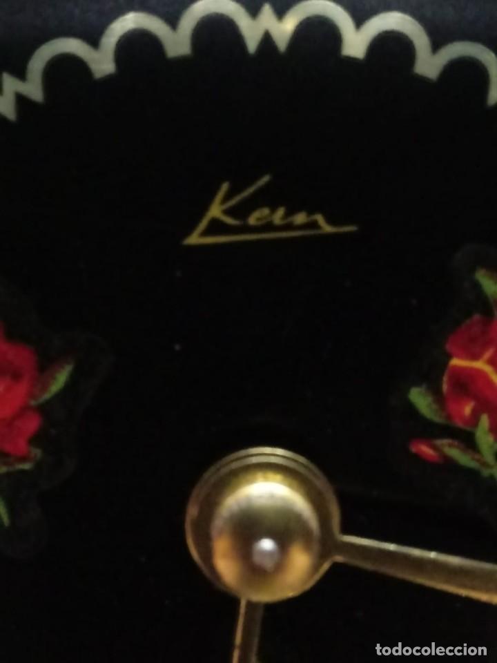 Relojes de carga manual: Antiguo reloj de sobremesa a cuerda - Foto 7 - 151640254