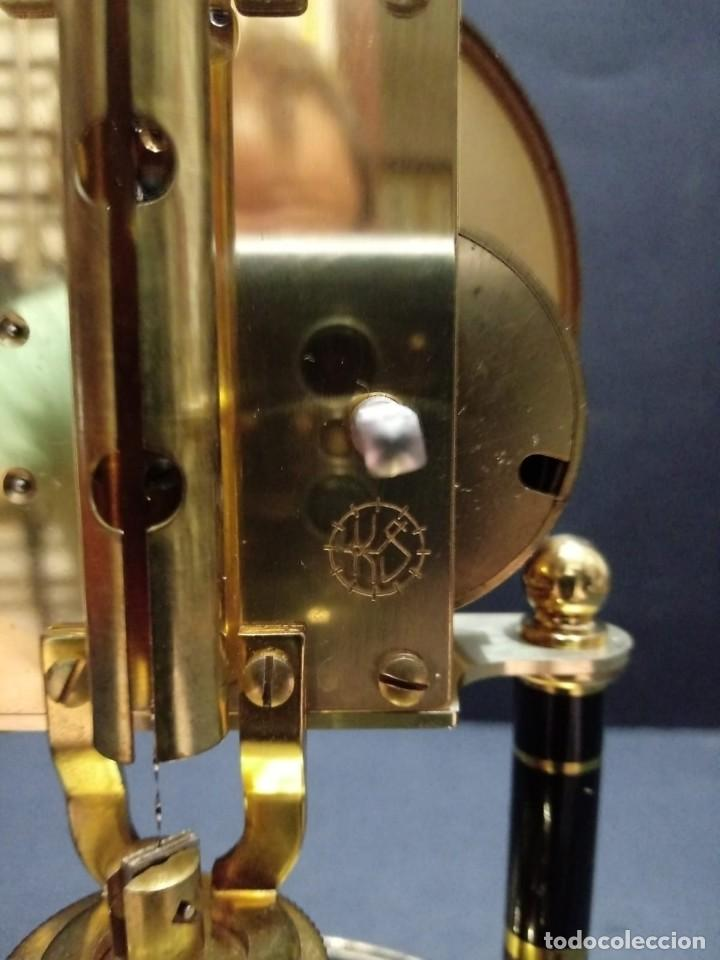 Relojes de carga manual: Antiguo reloj de sobremesa a cuerda - Foto 9 - 151640254