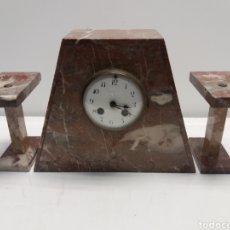 Relojes de carga manual: RELOJ DE MARMOL ESTILO ART DECO. Lote 28701780